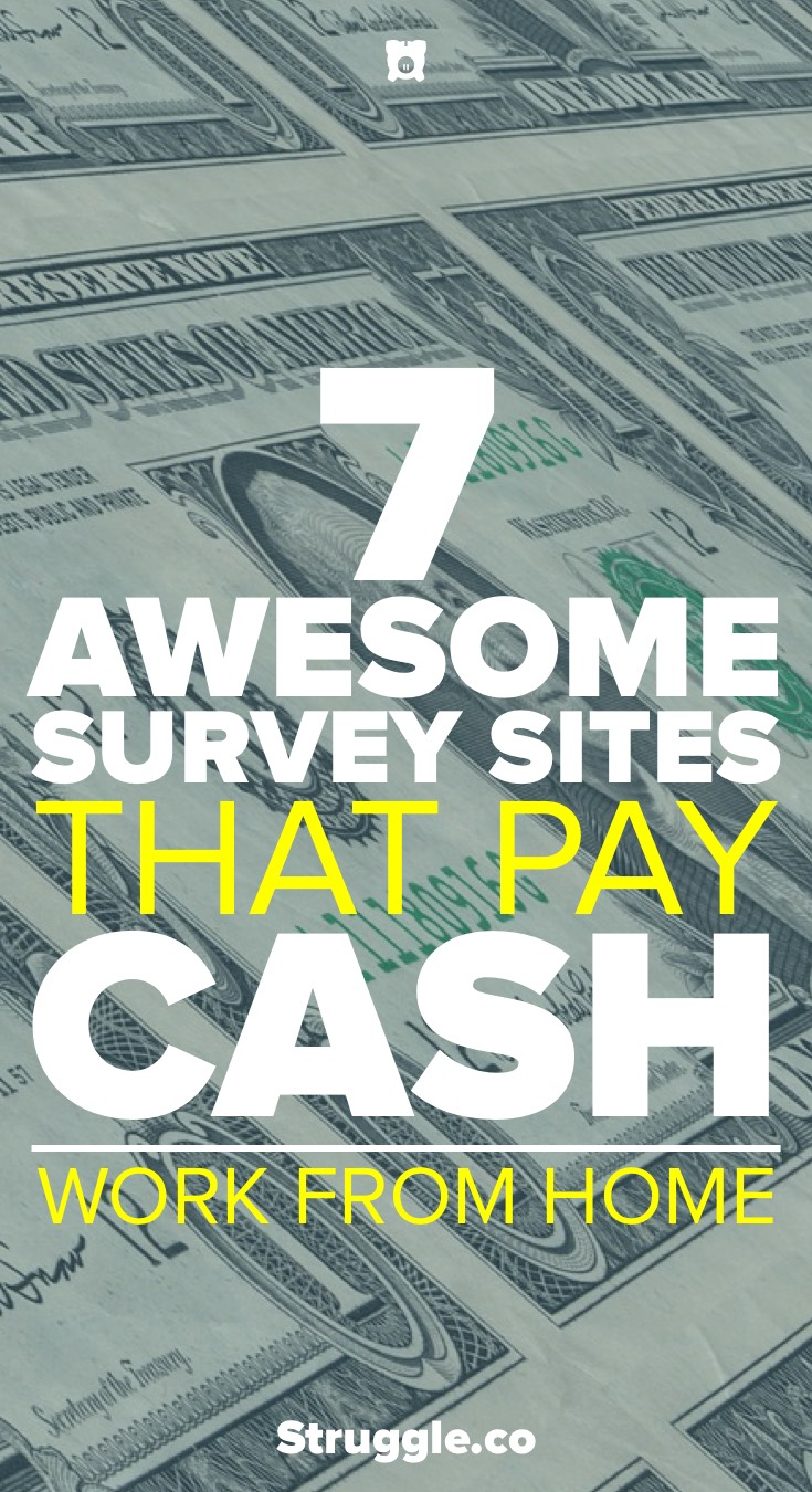 7 Awesome Survey Sites That Pay Cash