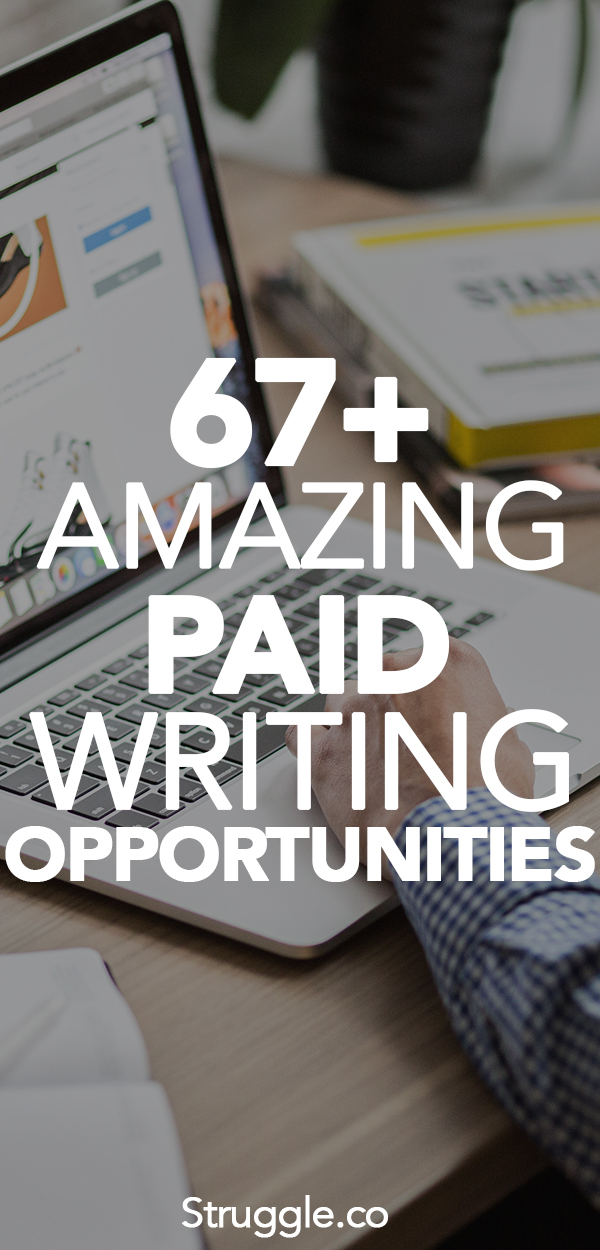 Get Paid to Write: 67+ Writing Jobs You Can Do From Home