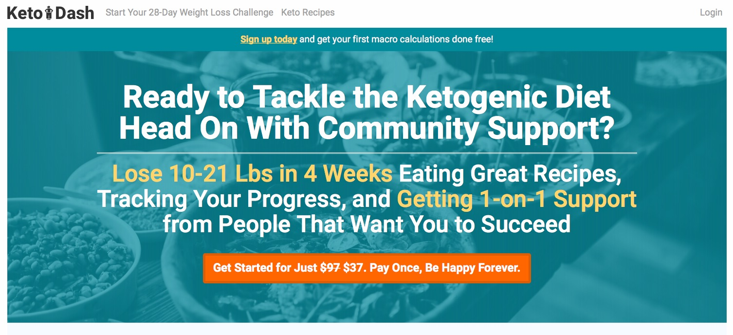 Keto Dash - Ketogenic Diet weight loss program
