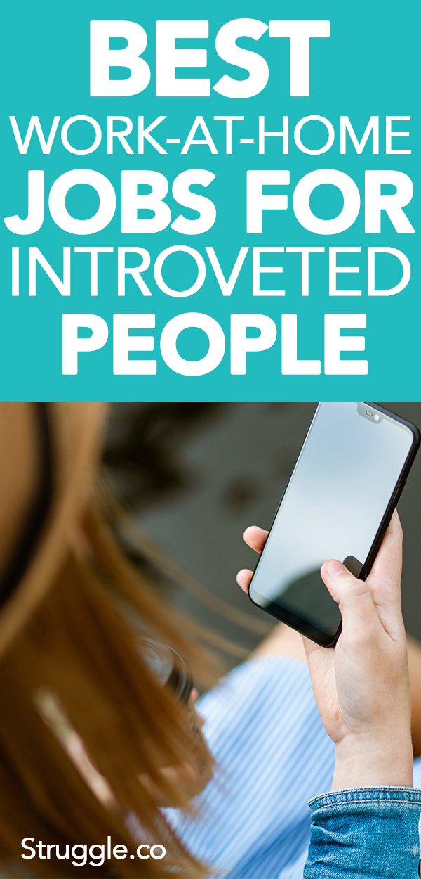 Best Work-At-Home Jobs for Introverts or People That Hate People