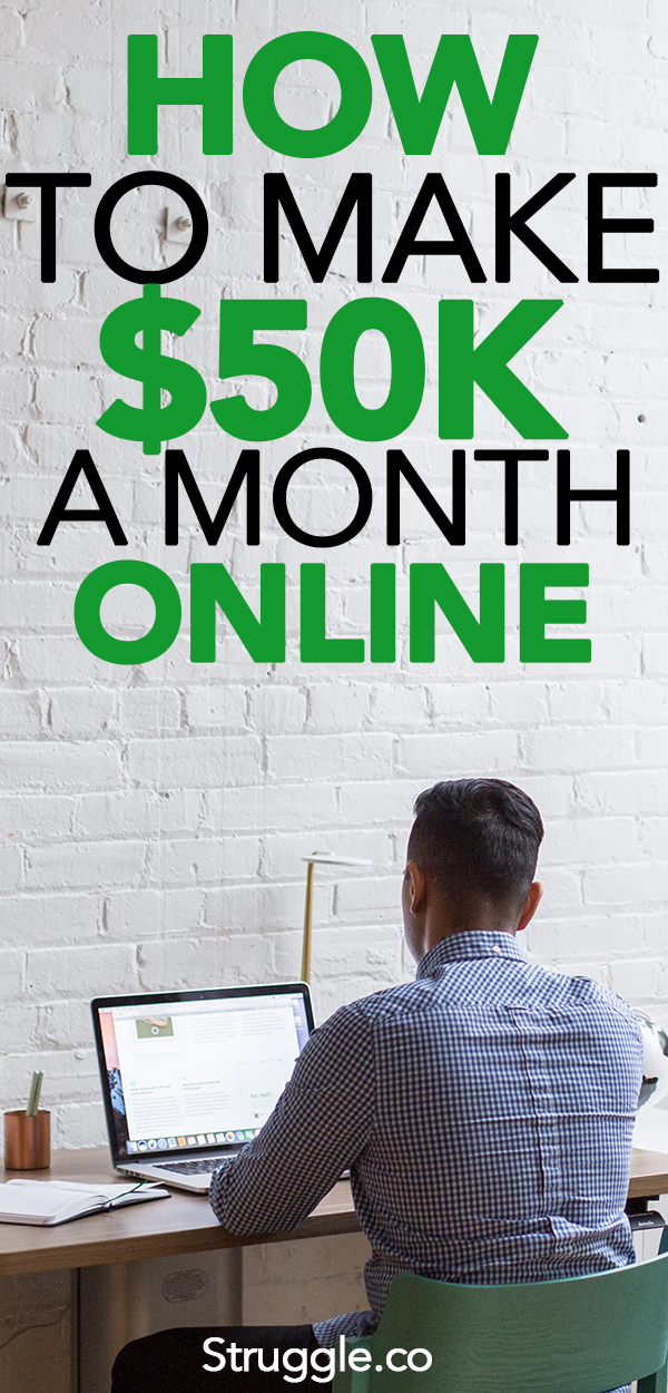 How to Make Money Online: 5 Things I Do to Make $50,000+ a Month Online