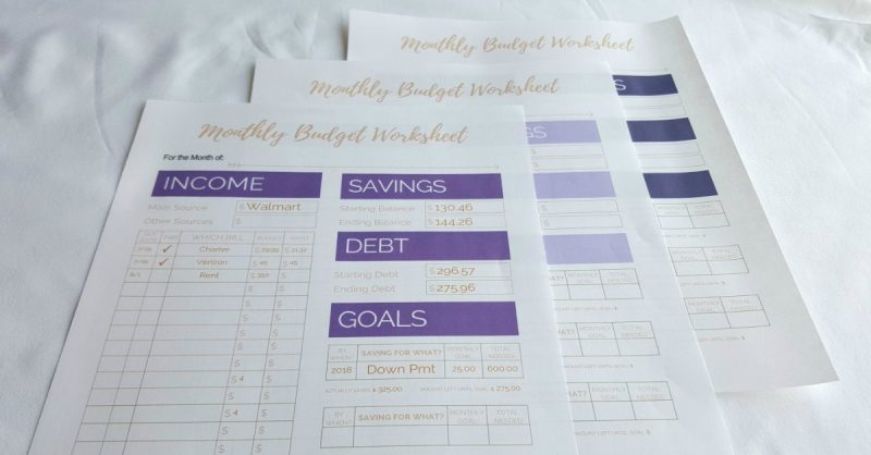 picture about Free Budget Planner Printables named Spending budget Planners: 11 No cost Wonderful Planners in the direction of Equilibrium the
