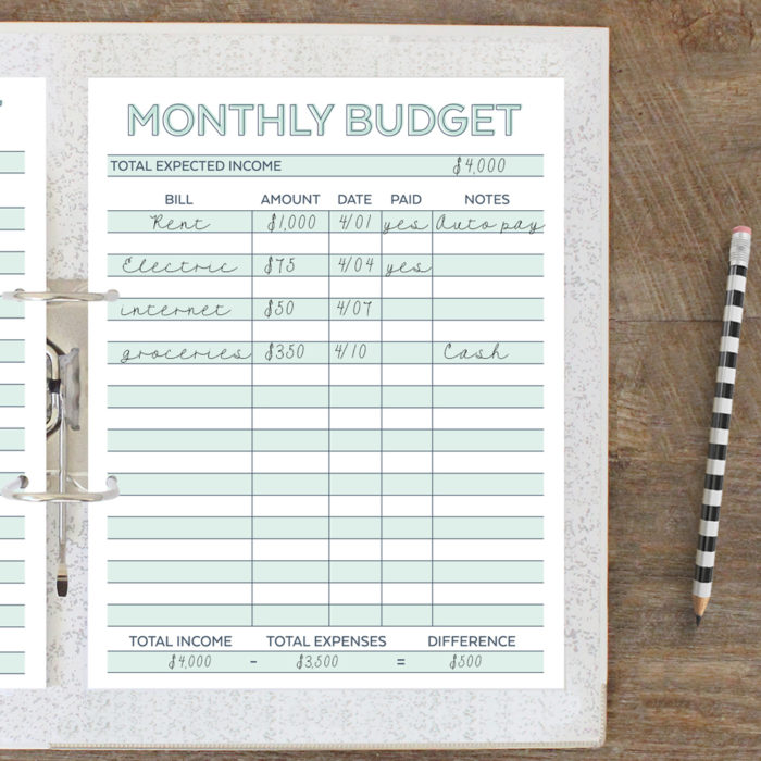 Awesome  Free Budget Planners To Help You Budget Better