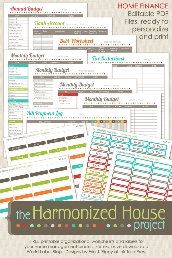 Trying to figure out your expenses to help pay off debt and plan your budget? These free printables were a great help for me.