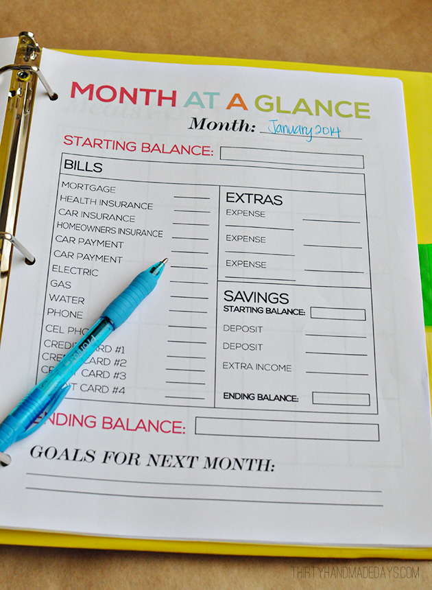 budget planners 11 free awesome planners to balance the budget