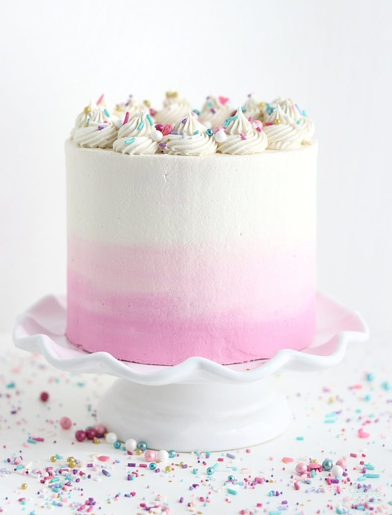 vanilla cake with vanilla buttercream recipe
