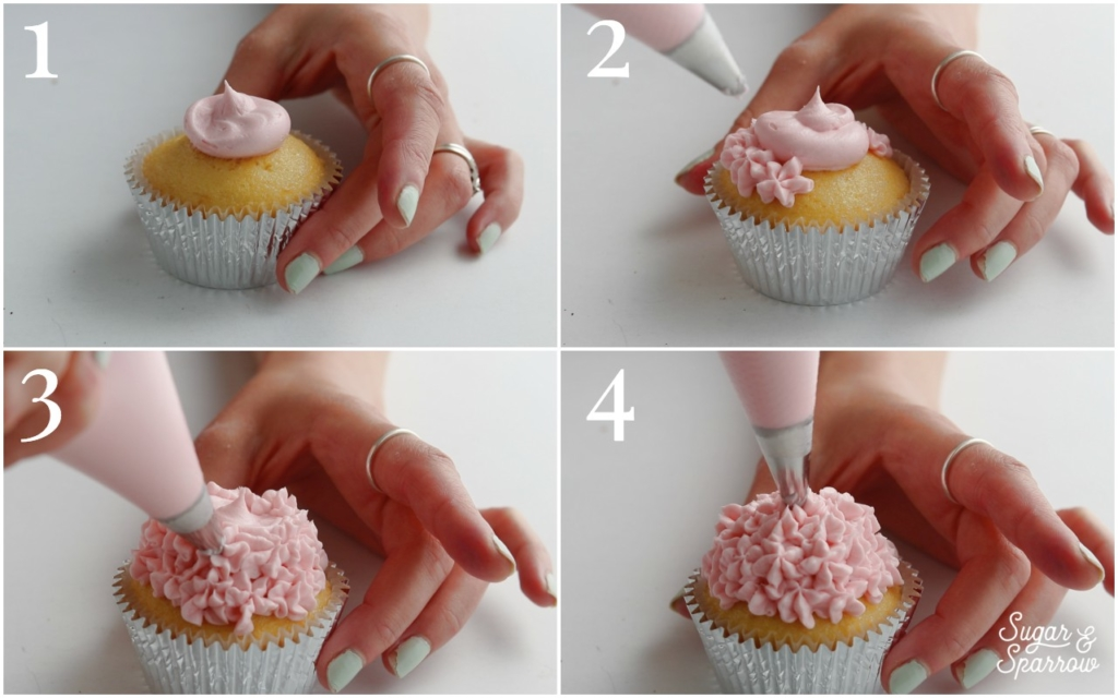 how to make buttercream hydrangeas