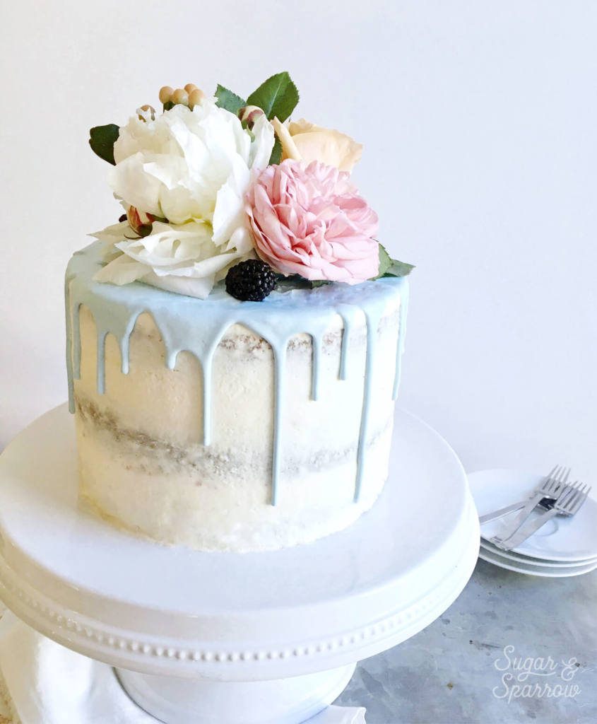 How To Frost A Flawless Semi-Naked Cake