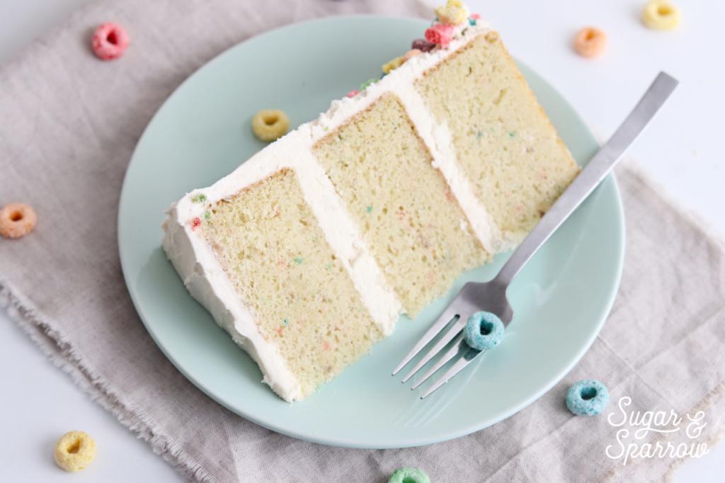 cereal cake recipe