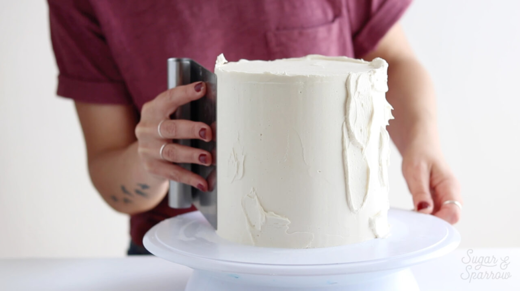 cake decorating tips by sugar and sparrow