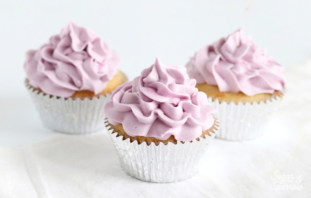 ruffled swirl cupcakes by sugar and sparrow
