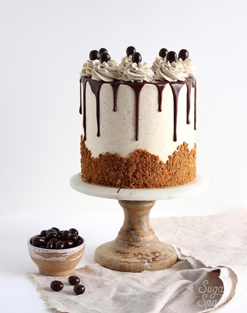 coffee layer cake with vanilla espresso buttercream recipe