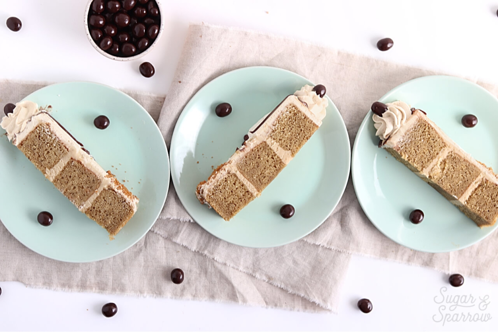 slices of coffee cake by sugar and sparrow