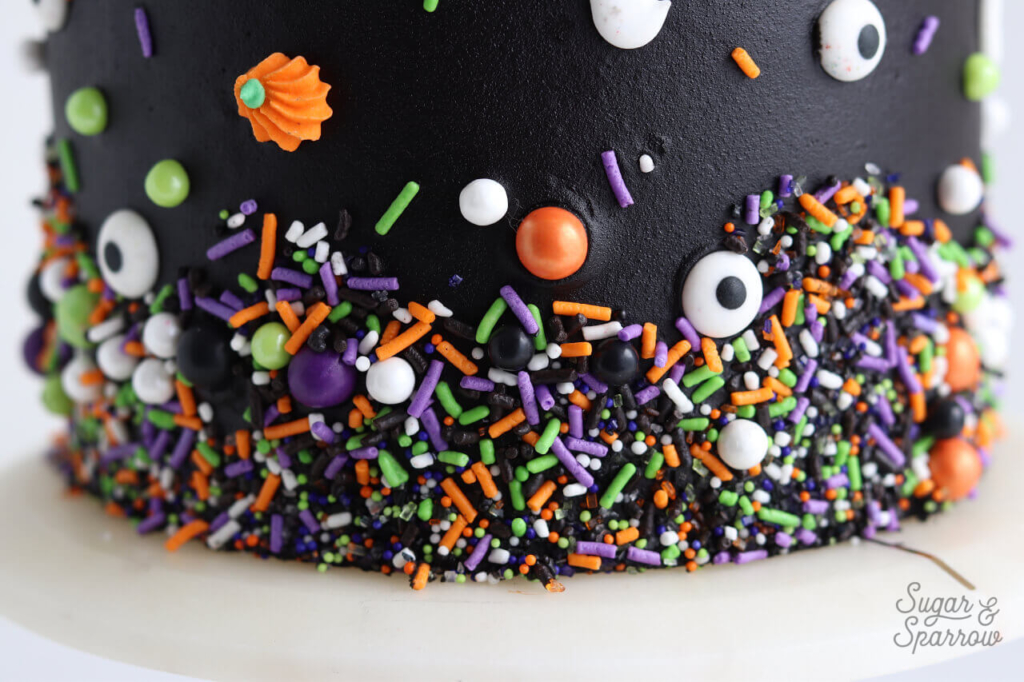 how to add sprinkles to cake