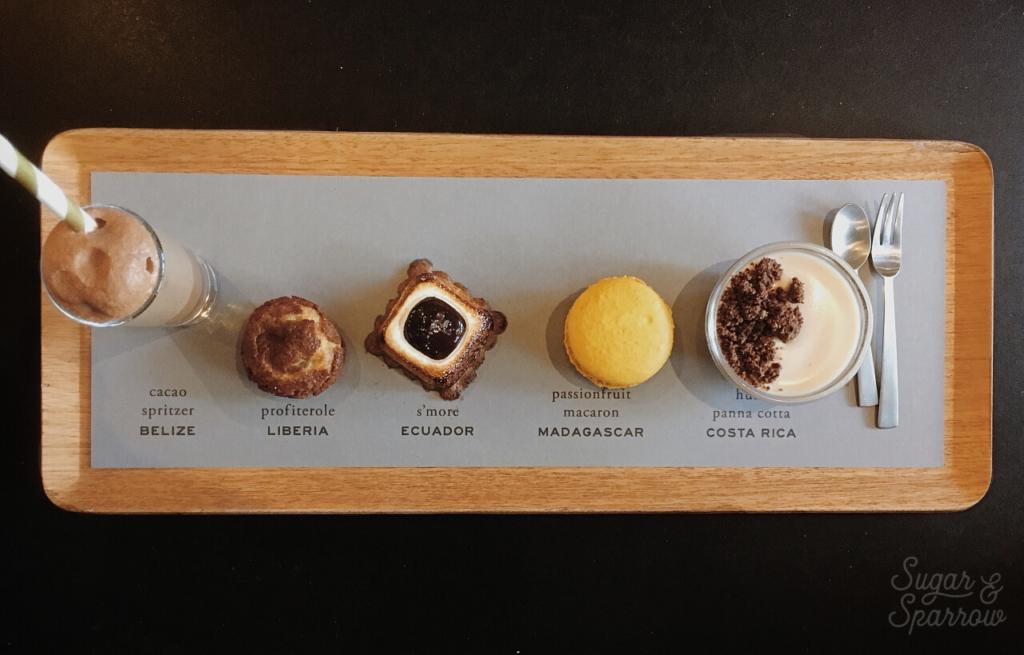 dandelion chocolate chef's tasting menu review