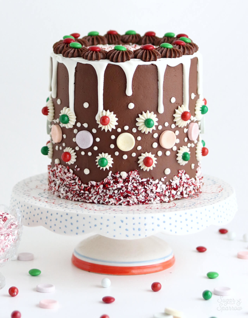 gingerbread cake by sugar and sparrow