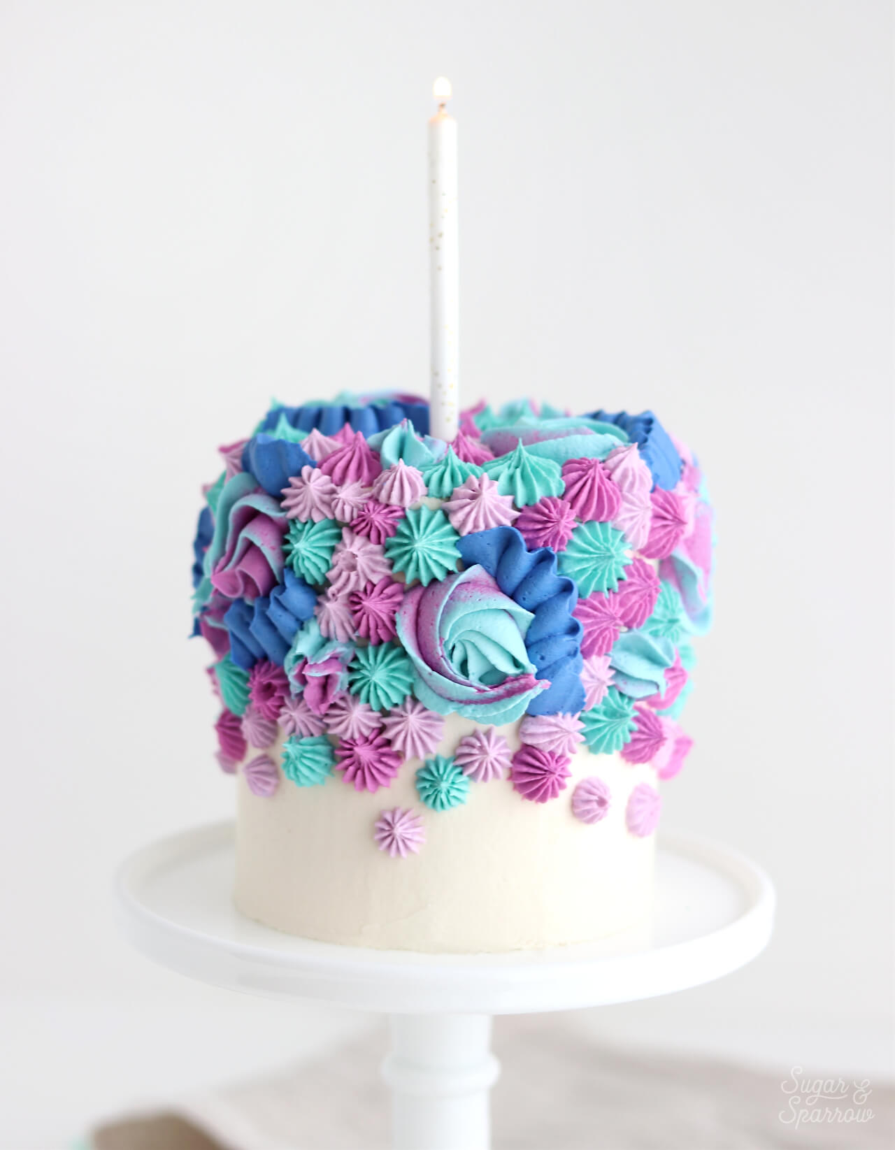 1st Birthday Smash Cake Recipe + Decorating Ideas - Sugar & Sparrow