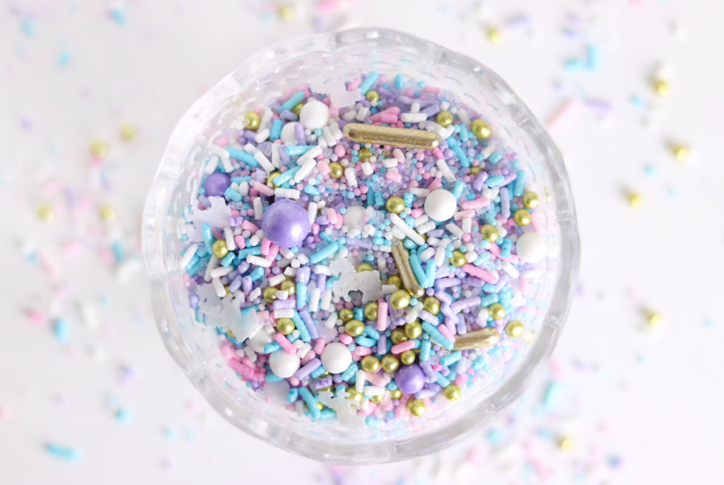 Unicorn sprinkle mix by SprinklePop