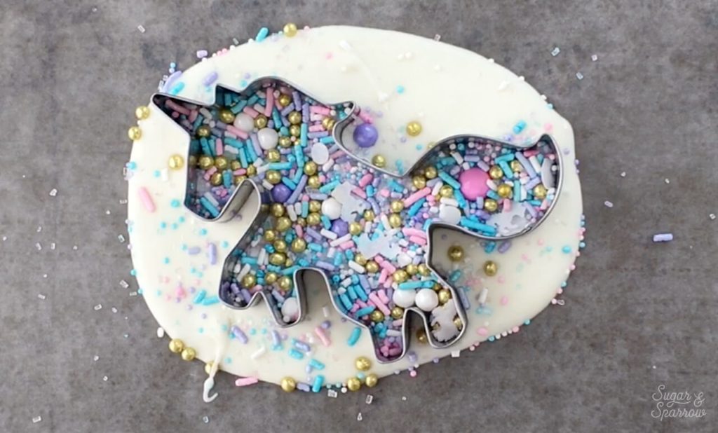 diy unicorn cake topper