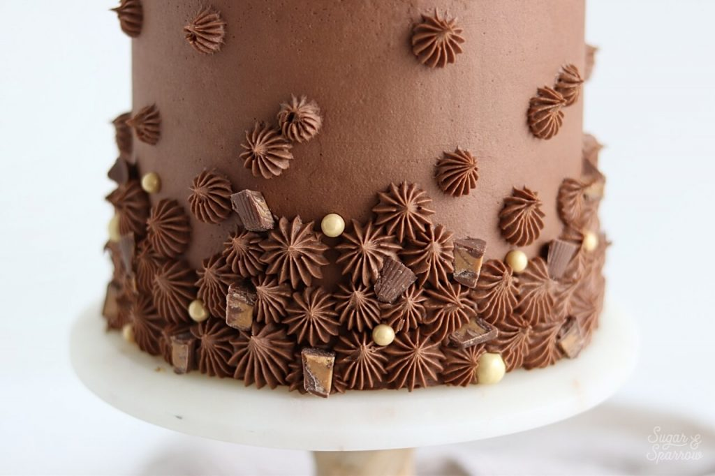 chocolate peanut butter buttercream