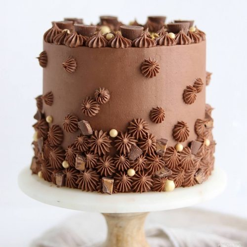 Fantastic Chocolate Peanut Butter Cake Recipe Sugar Sparrow Funny Birthday Cards Online Alyptdamsfinfo