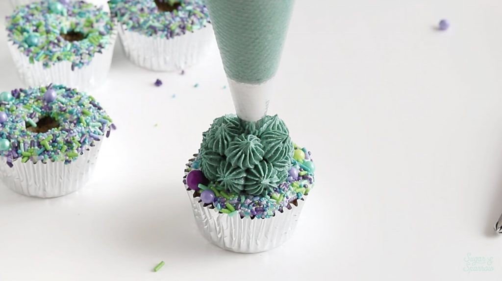 buttercream succulent tutorial
