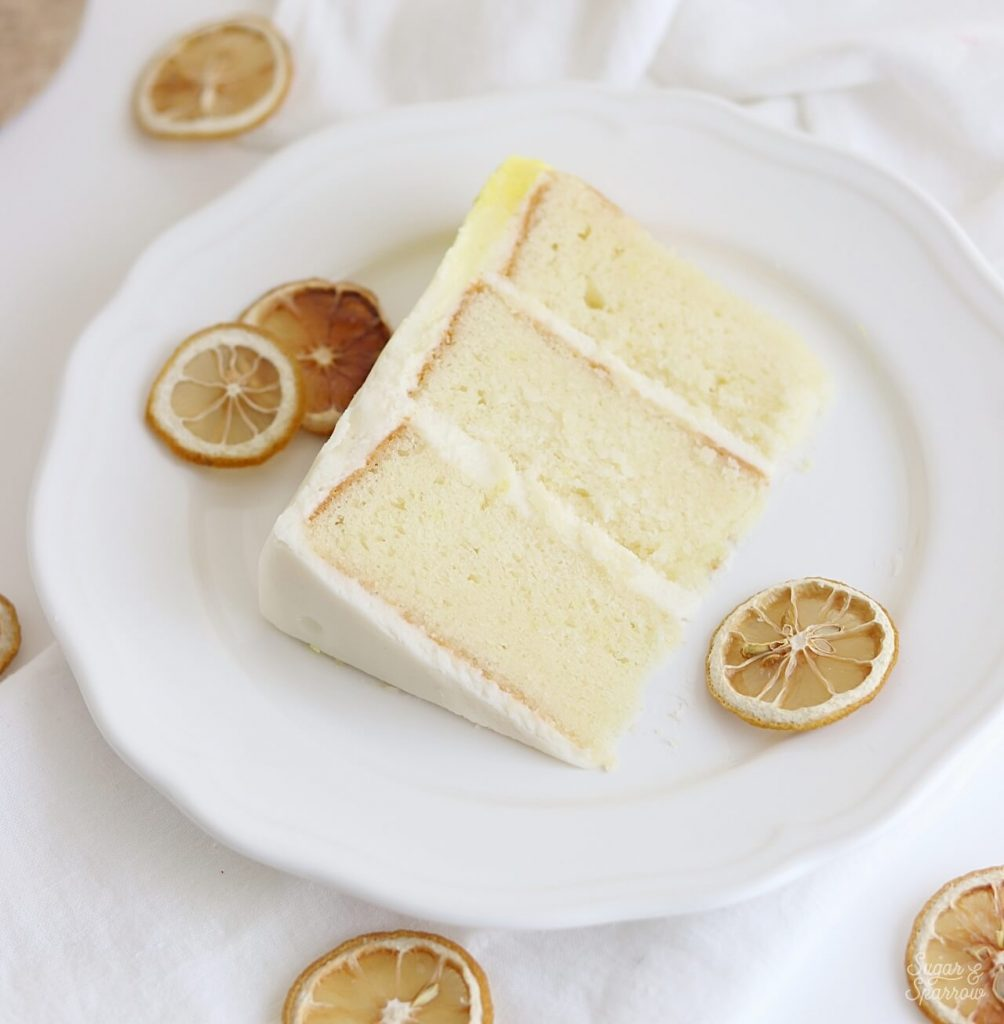 lemon cake recipe with cream cheese buttercream