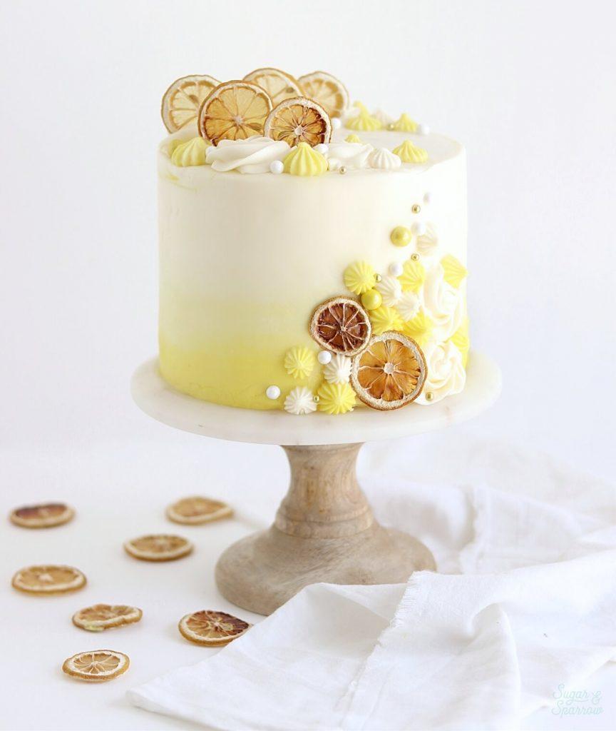 lemon cream cheese cake recipe