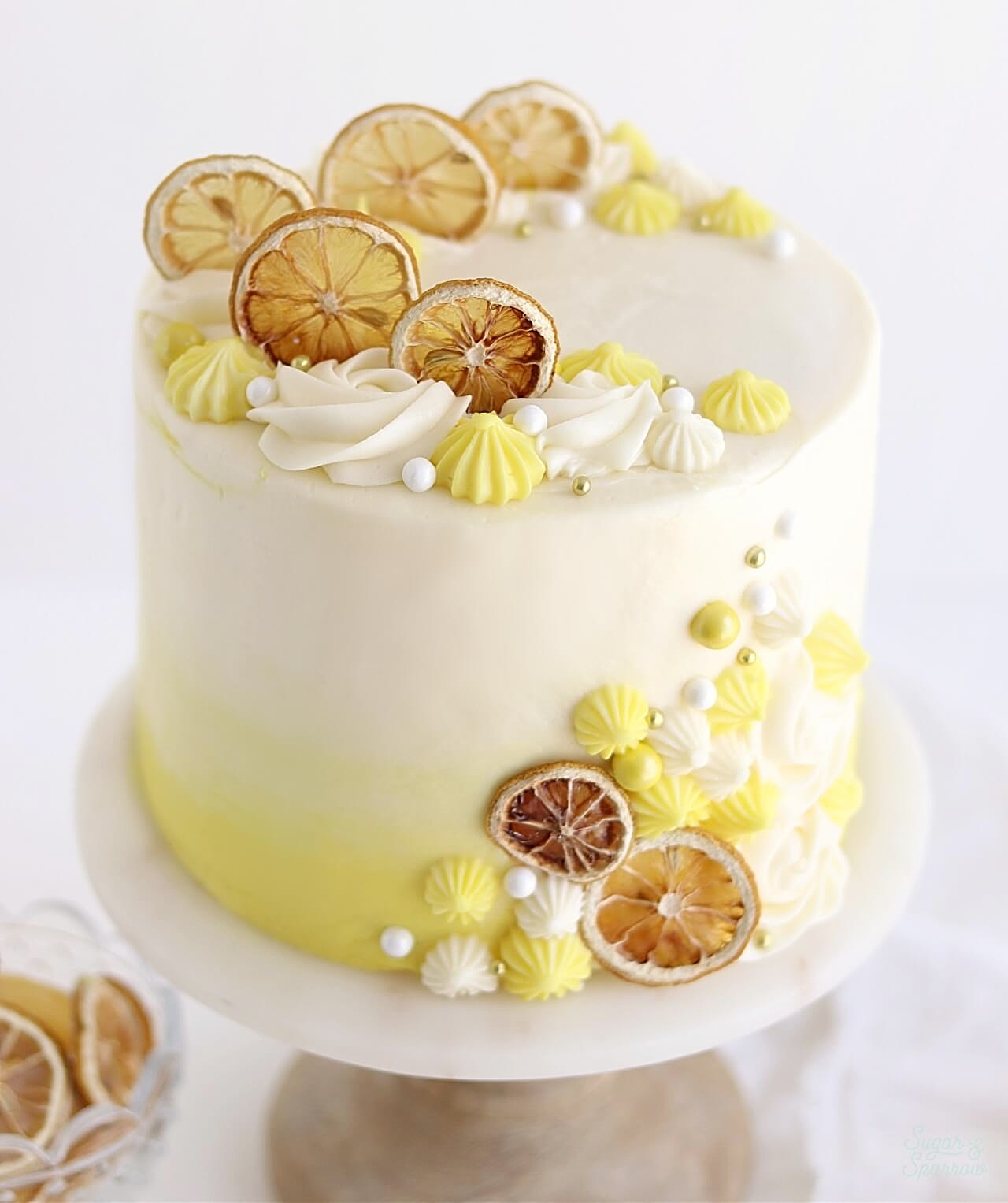 lemon layer cake recipe Archives - Sugar & Sparrow