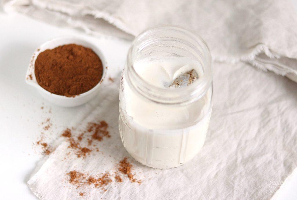 vanilla chai milk and spices