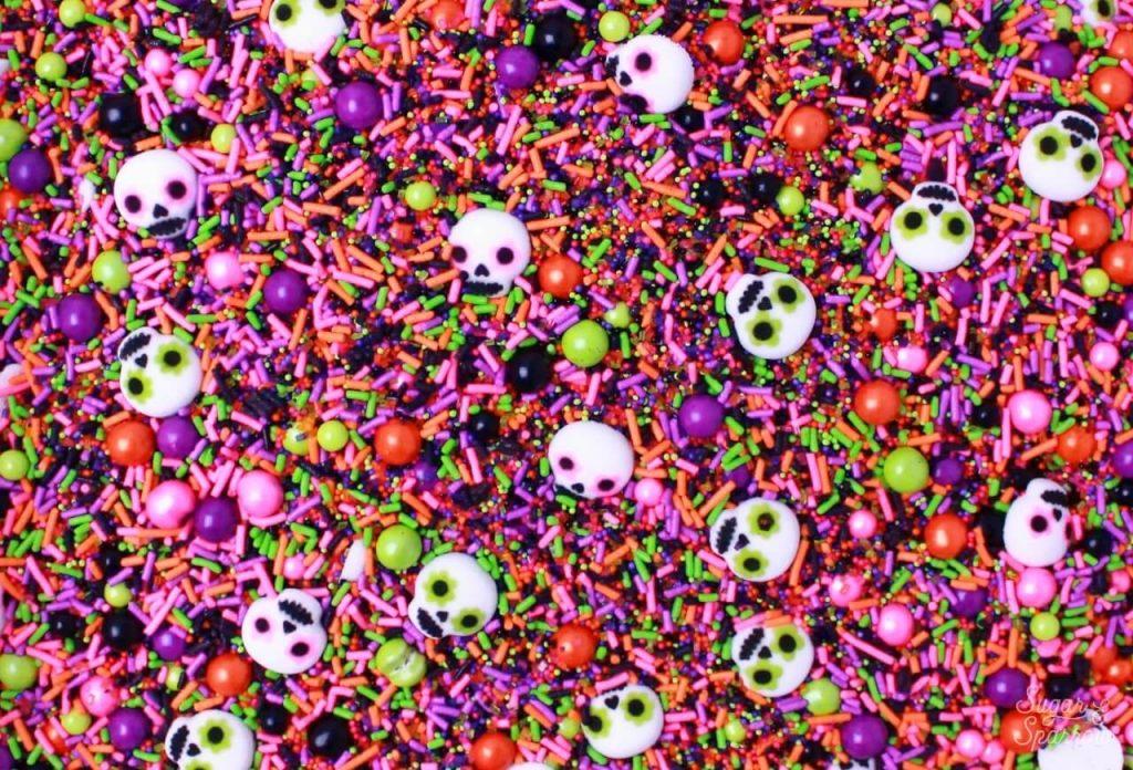 Dia De Los Muertos sprinkles by Sprinklepop