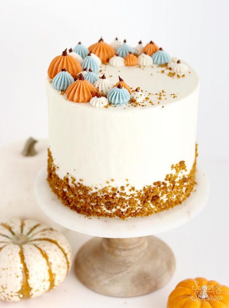 pumpkin cake with cream cheese buttercream recipe
