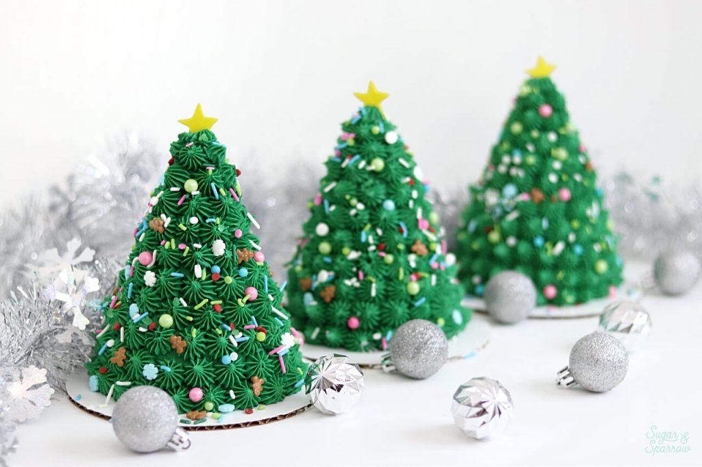 3d christmas tree cake tutorial