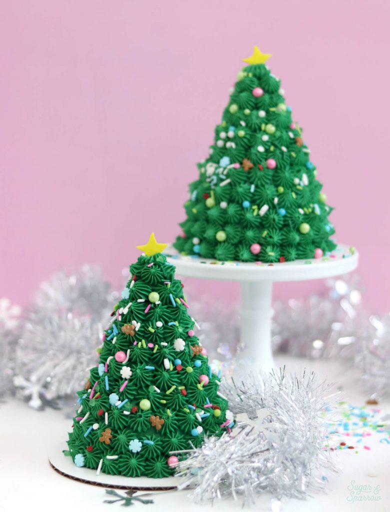 christmas tree cakes tutorial