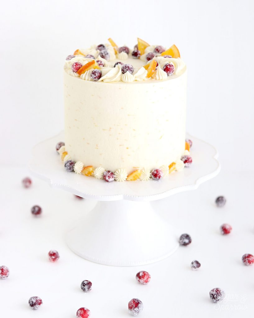 cranberry orange cake recipe