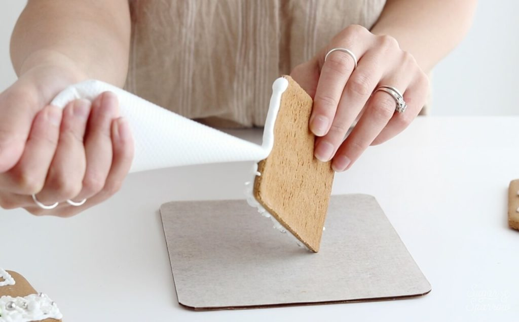 royal icing for gingerbread house recipe