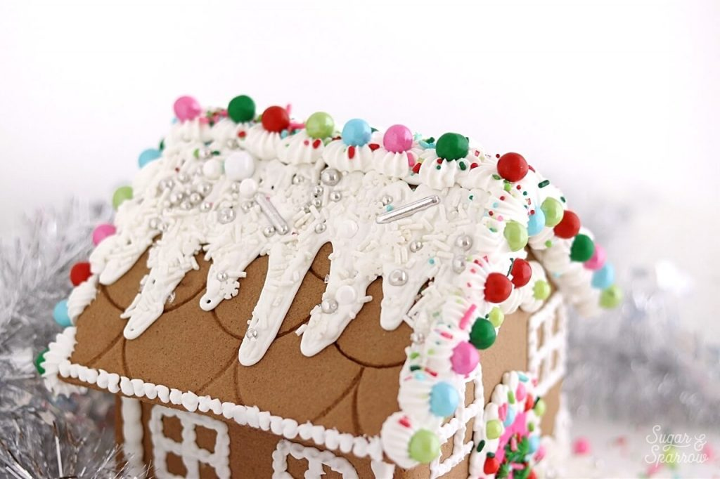 how to make a strong gingerbread house for decorating