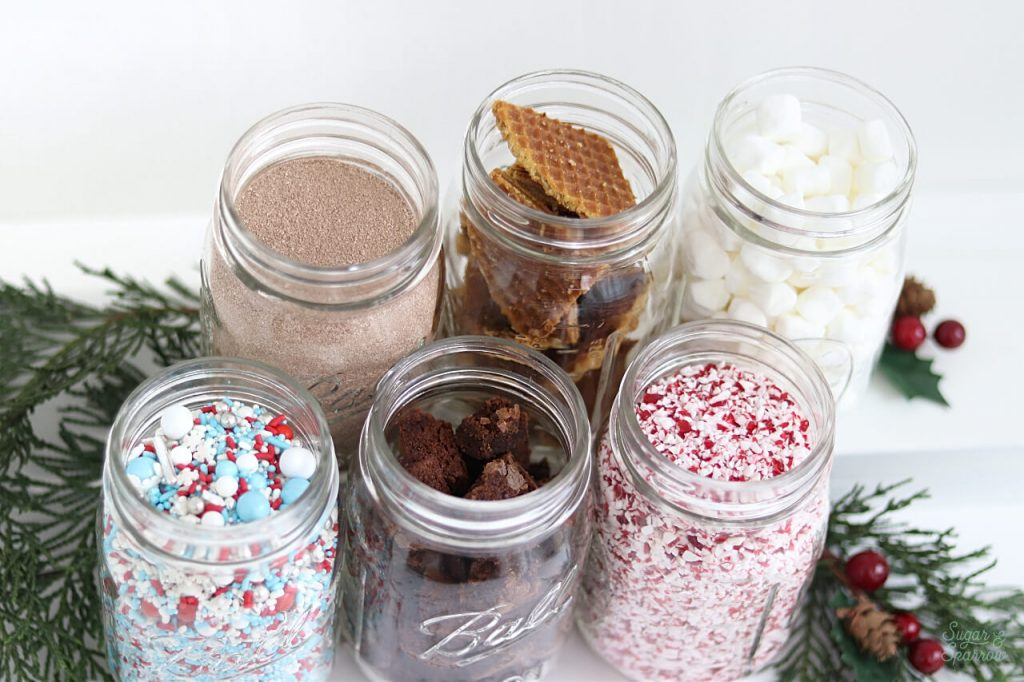topping ideas for hot cocoa bar