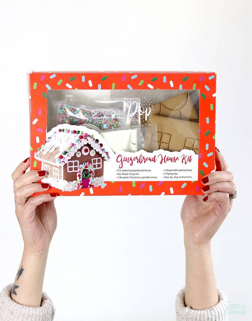 Gingerbread House Kit by SprinklePop