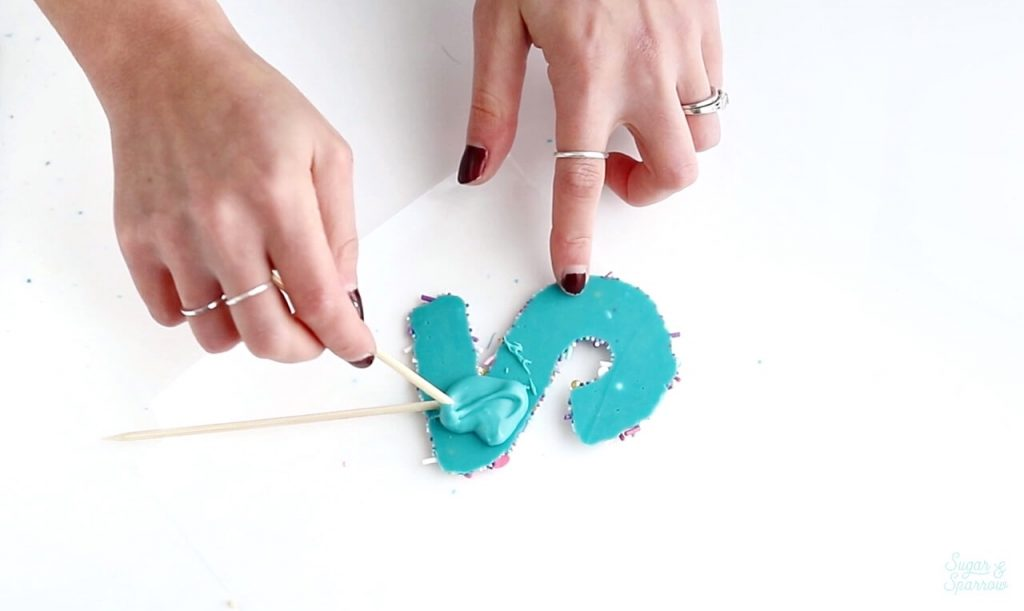 how to make your own cake topper numbers