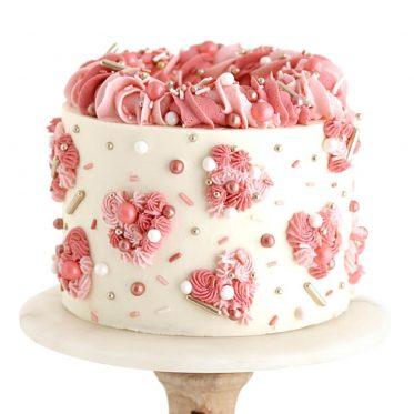 Valentines Day Cake tutorial