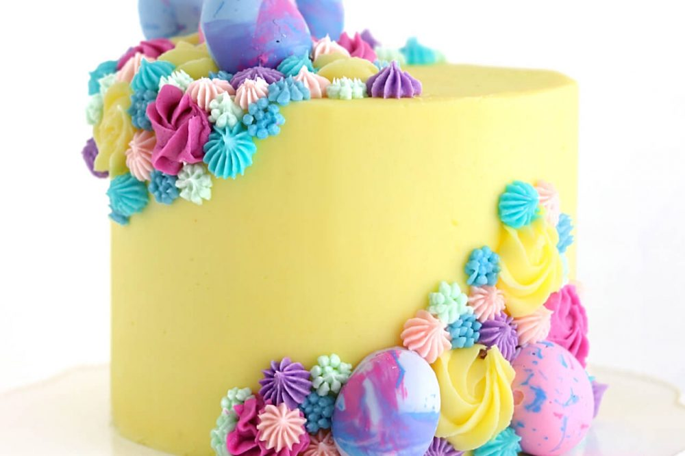 Easter Egg Cake by Sugar and Sparrow