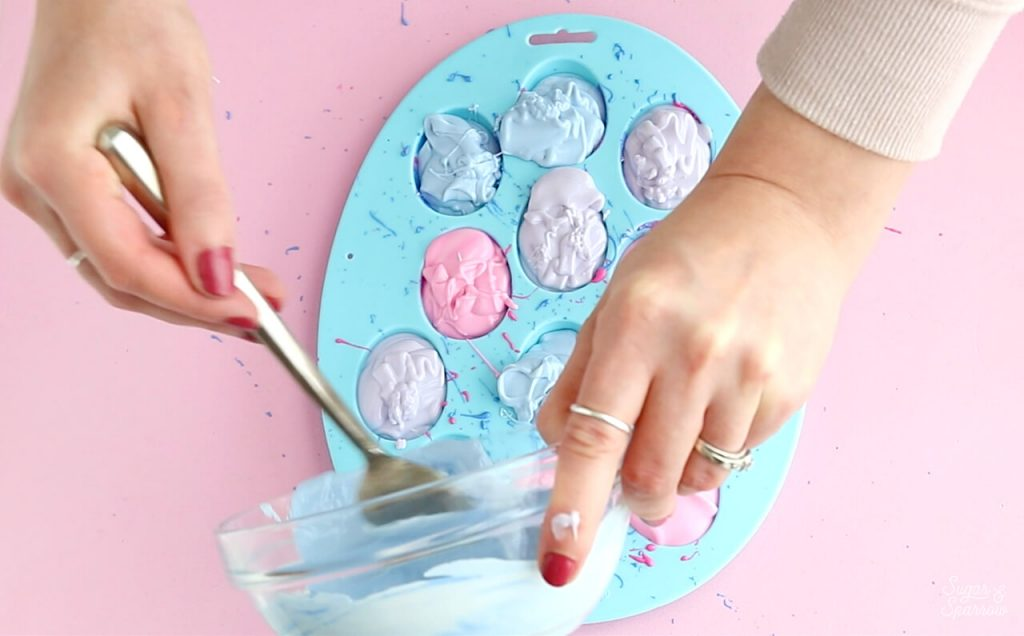 colorful chocolate easter eggs tutorial