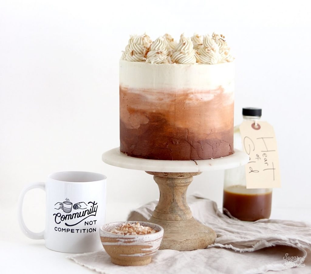 Pips Chai Cake Recipe by Sugar and Sparrow