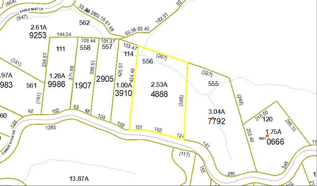Lot 556 Timber Rock Drive