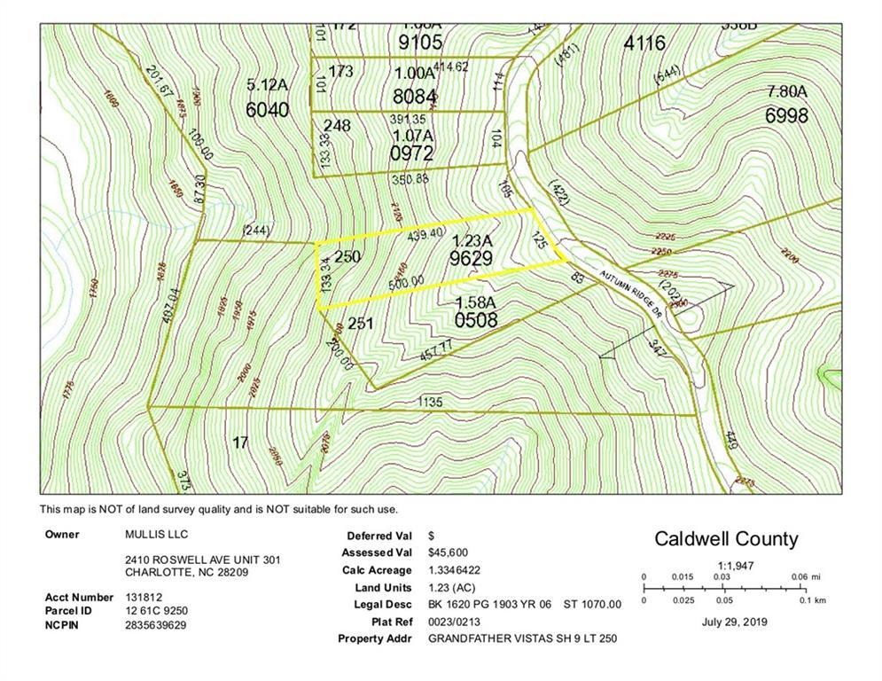 Lot# 250 Autumn Ridge