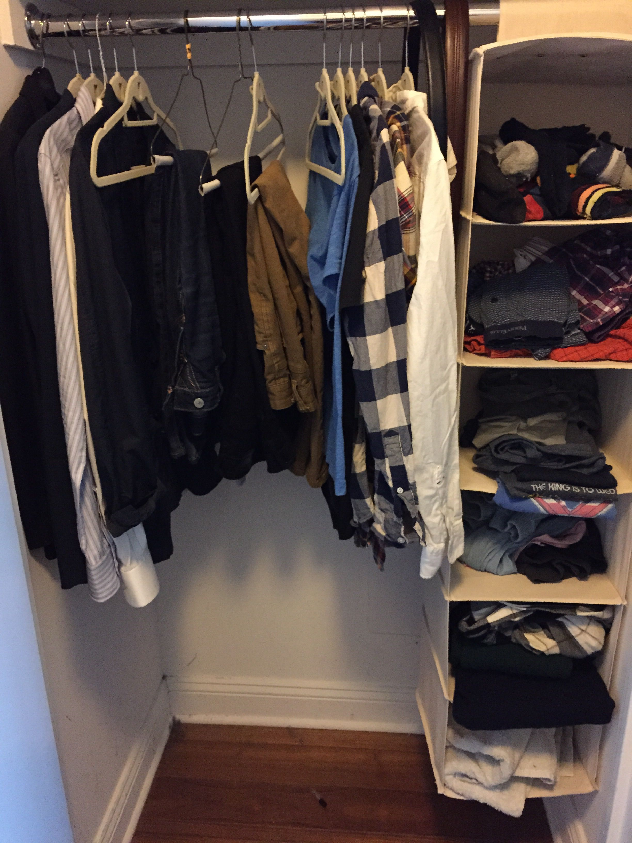 My wardrobe minimized