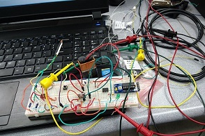 What it looks like to work with electronics.