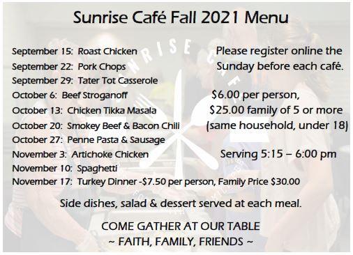 Cafe Fall 21