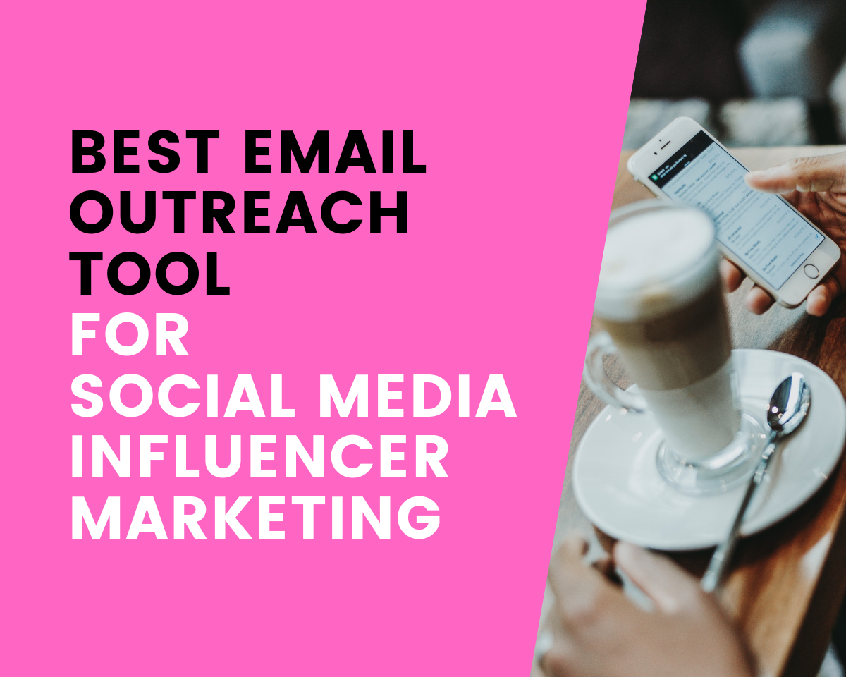 Best email outreach tool for social media influencer marketing! (SocialBook feature)
